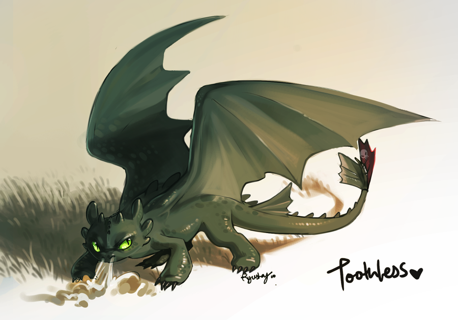 toothless by Ryushay