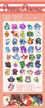 Pokemon Phone Charms! II