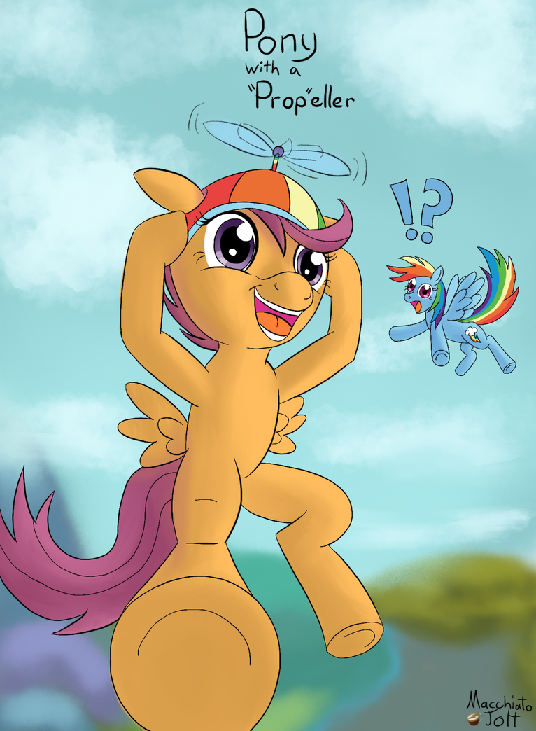 Training Ground Day 3: Pony with a Prop-eller by MacchiatoJolt