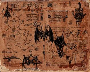 Diablo Artwork by Kracov