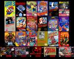 collage of classics