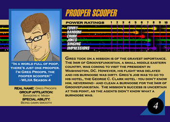 Marvel Card Greg Proops