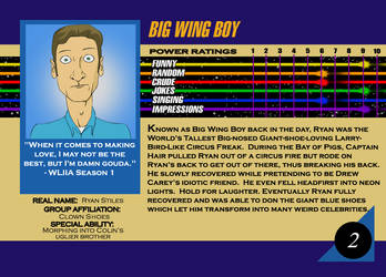 Marvel Card Ryan Stiles