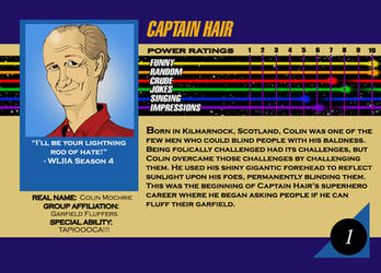 Marvel Card Colin Mochrie