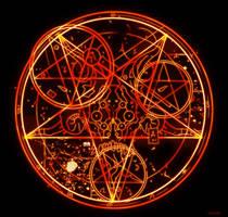 Doom 3 Pentagram HD by Kracov