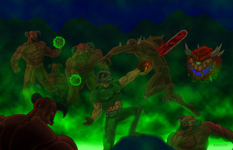 Doom- nukage version by Kracov
