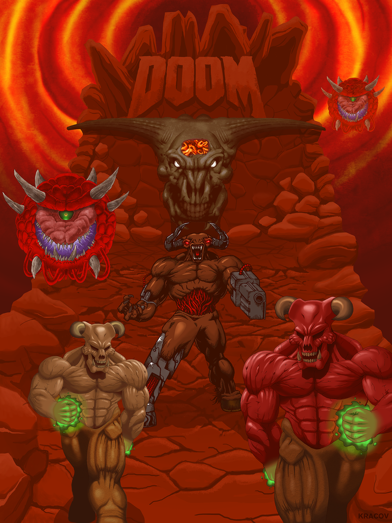 Doom, Against Thee Wickedly by Kracov