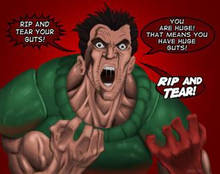 Doom: RIP AND TEAR by Kracov