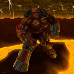 Doom: The Merciless Cyberdemon by Kracov