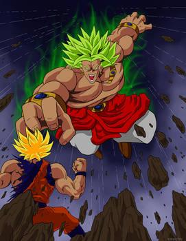 Broly the Legendary Super Saiyajin