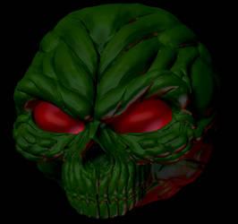 3D Doom Invulnerability Sphere by Kracov