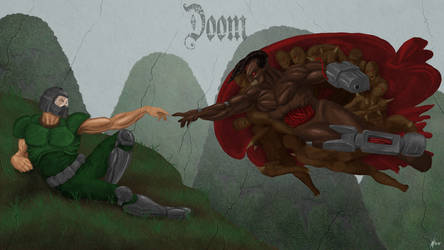 The Creation of Doomguy