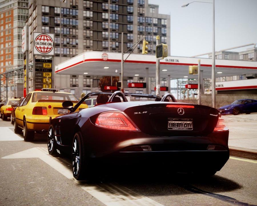 GTA 4 WITH L3EVO ENB MOD and custom cars by DarK6464 on
