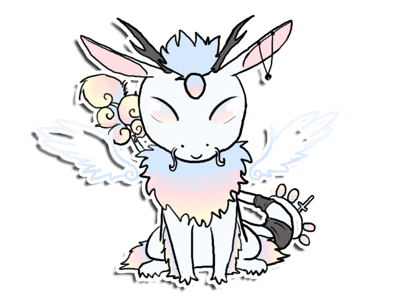 Opalith Sticker commission by Pink-Doodlr