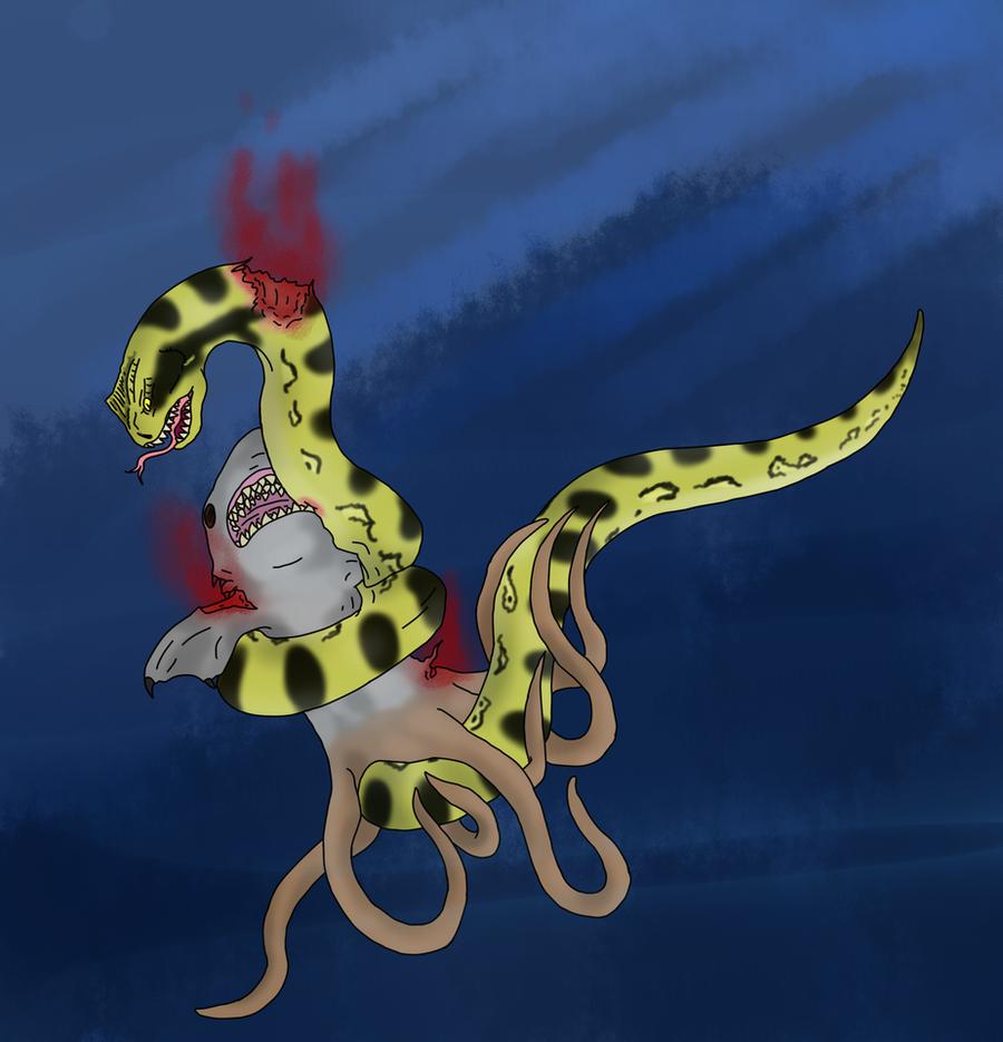 Sharktopus Vs Piranhaconda