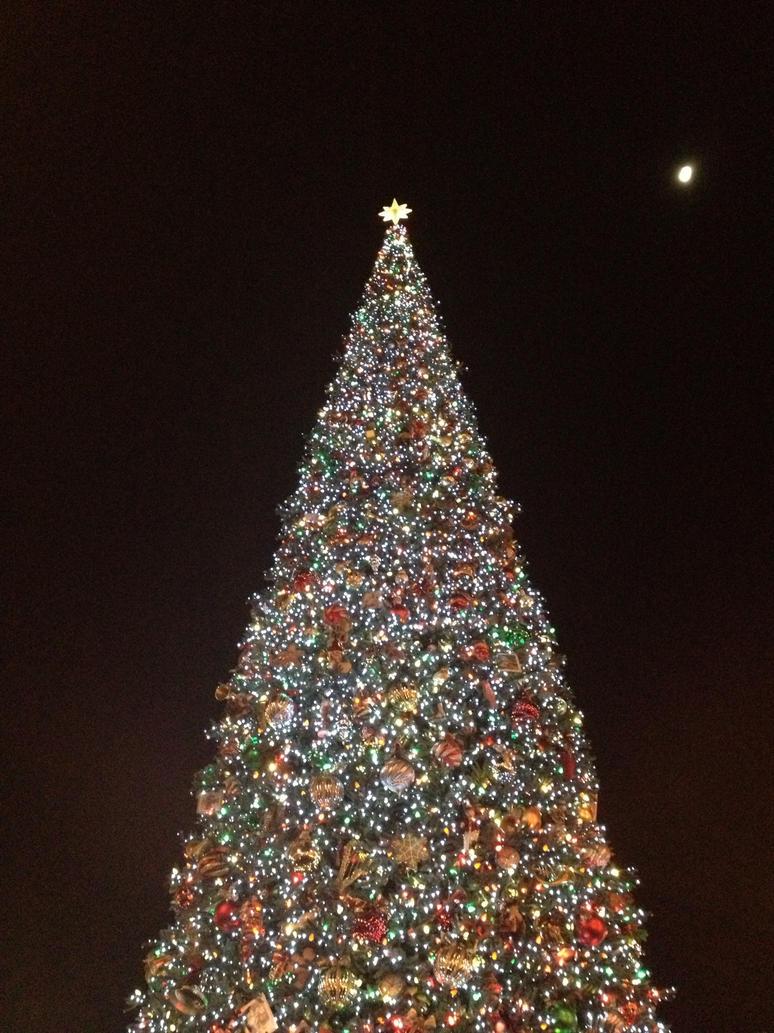 Disneyland Christmas Tree by firegirl1995