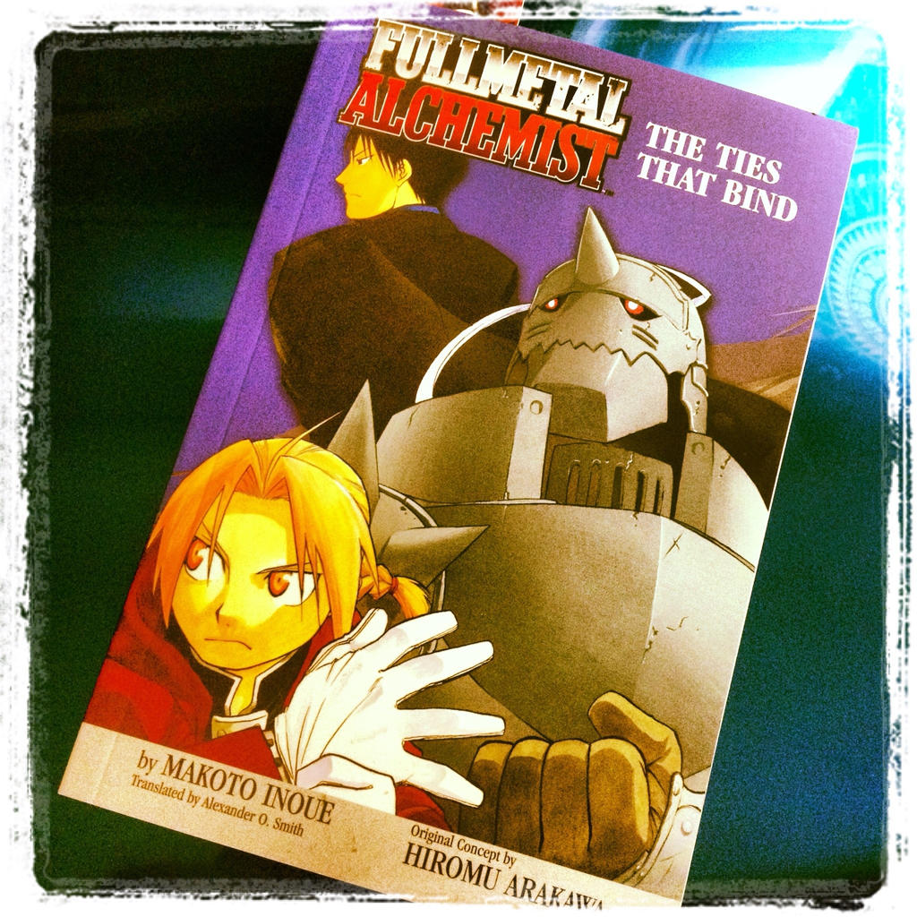 novel alchemist best ideas about alchemist novel the alchemist  fullmetal alchemist the ties that bind novel by firegirl on fullmetal alchemist the ties that bind