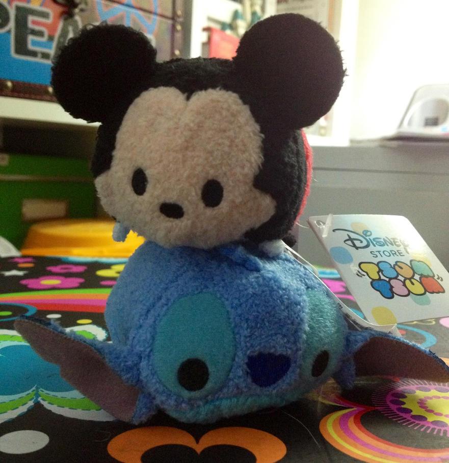 Disney Mickey and Stitch Tsum Tsum by firegirl1995
