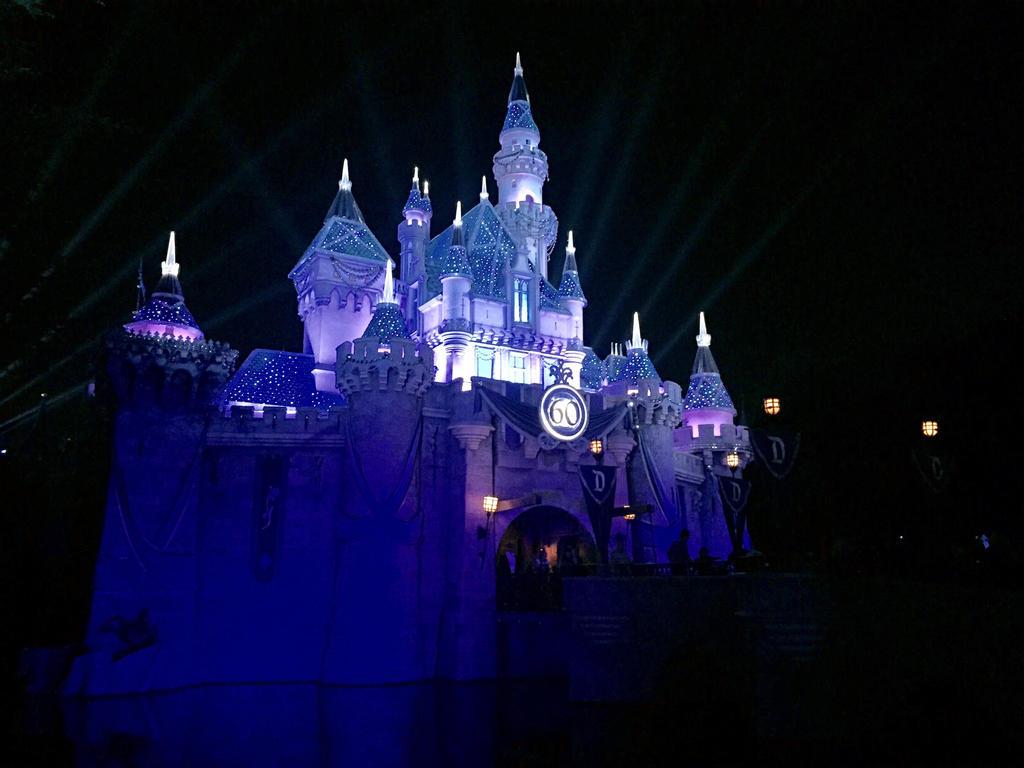 Disneyland 60th Anniversary Castle by firegirl1995