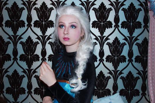Elsa makeup test 3
