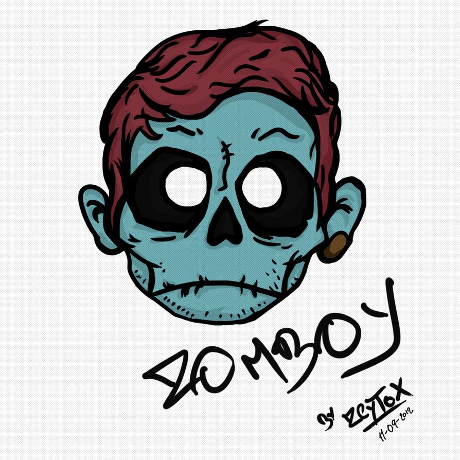Wallpaper iphone zomboy - Zomboy By Zeytox