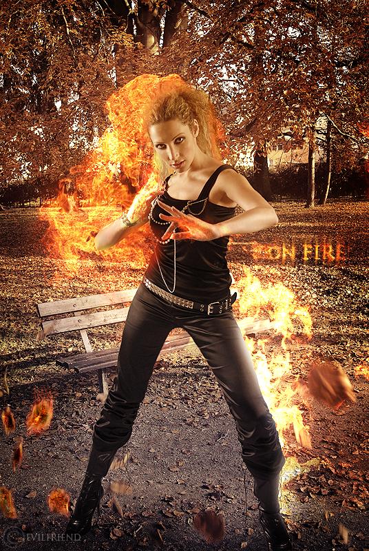 On Fire by EvilFriend