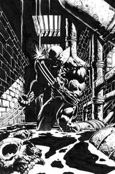 Wolverine 900 cover inks