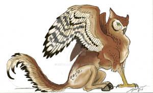 Kula the Owl Hippogriff