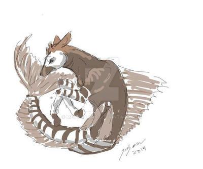 Okapicampus speed paint