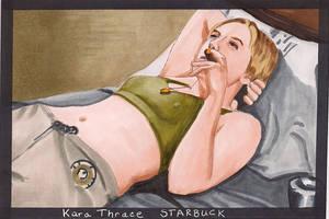 Starbuck by Purple-Pencil