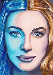 Cercie Lannister by Purple-Pencil
