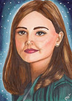 Clara - Dr. Who by Purple-Pencil
