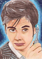 Dr. Who 10 by Purple-Pencil