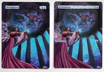 Altered Magic Cards by Purple-Pencil
