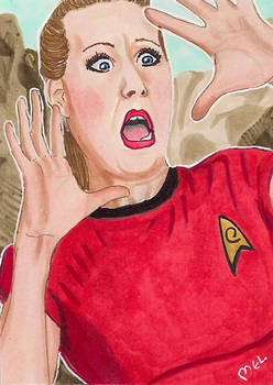 Red Shirt about to die