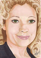 River Song Dr. Who by Purple-Pencil