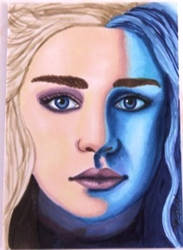 game of Thrones Danearys by Purple-Pencil