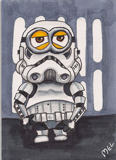 Storm Trooper Minion by Purple-Pencil