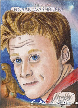 Official Firefly Anniversary Sketchcard  Wash