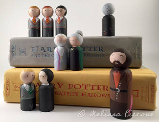Potter Peg dolls