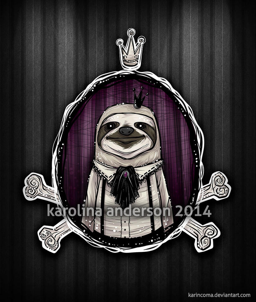 _Sir Slothington by karincoma
