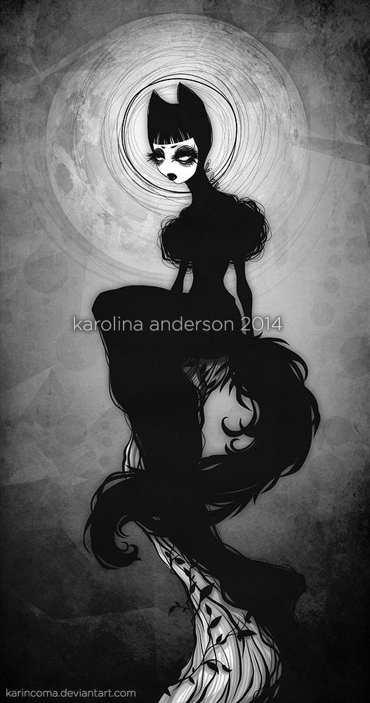_bad wolf by karincoma