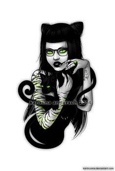 _crazy cat lady