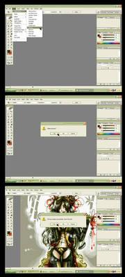 KariNComA CG tutorial xD