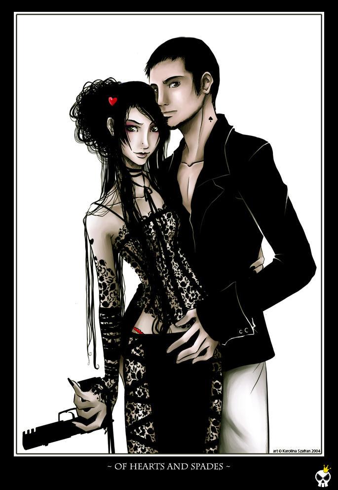.. of hearts and spades .. by karincoma