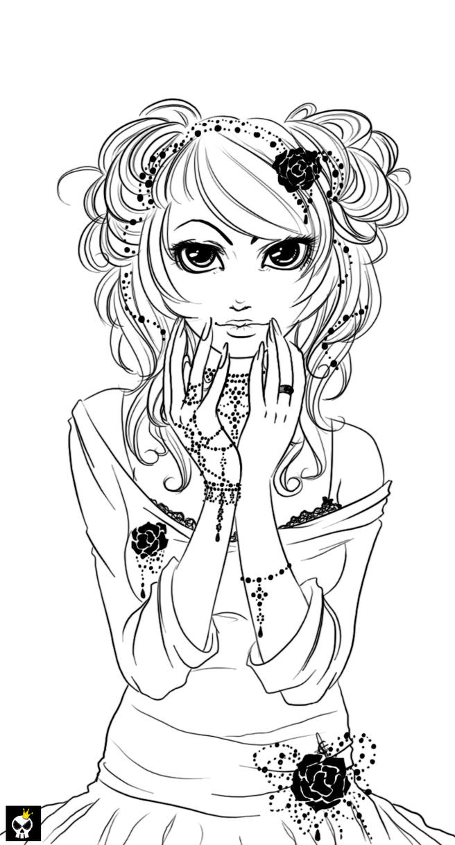 black pearls lineart   by karincoma on deviantart