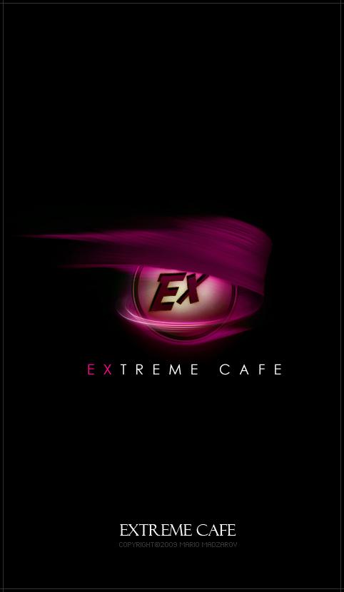 Extreme Cafe Logo by puler
