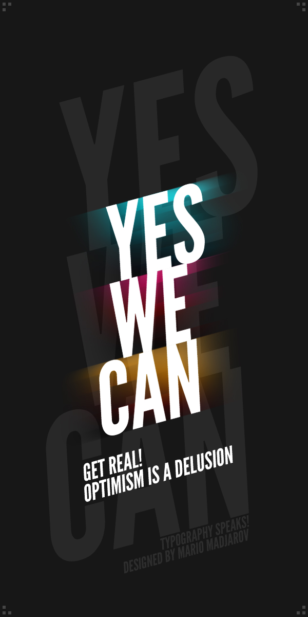 Yes we can by puler on deviantart for Bett yes we can
