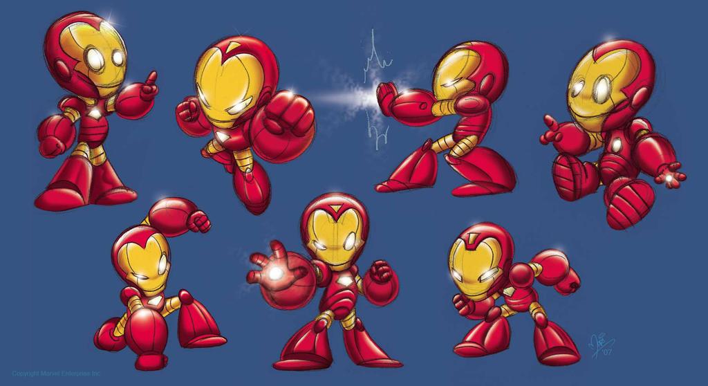 Cartoon Baby Iron Man Baby Iron Man by Marimoreno