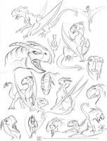 Guirla Studies by marimoreno